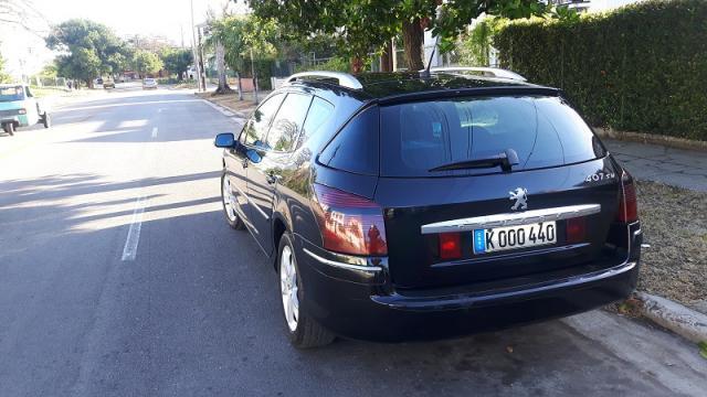 Vendo Peugeot 407 SW Turbo Diesel. MUY BUENO . Solo Firmas Extra