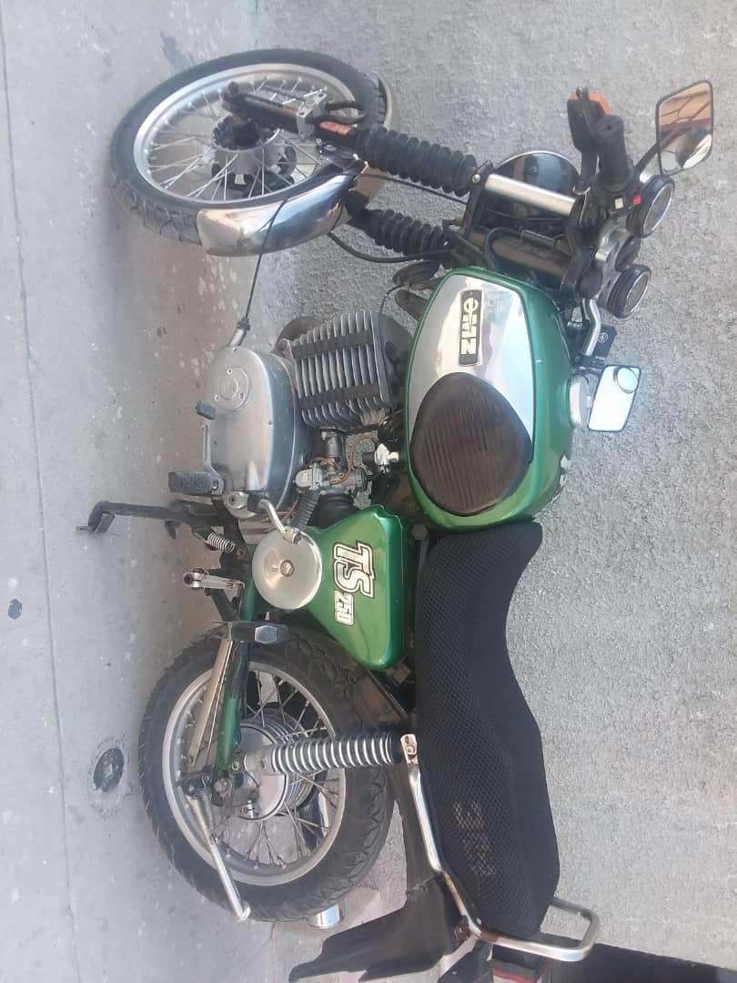 Venta de moto TS-250 con sidecar